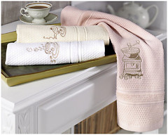 Фото Soft Cotton Mocha 30x50 3 шт белые