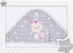 Interbaby Family 100x100 бело-розовое (01125-12)