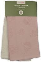 Фото Home Line Набор полотенец 40x60 кремовое-розовое (118293)