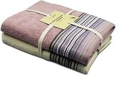 Фото Home Line Набор полотенец Тео 68x128 кремово-розовое (133814)