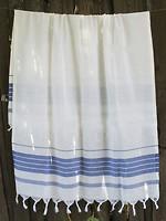 Фото Lotus Simple Stripe 75x150 бело-синее