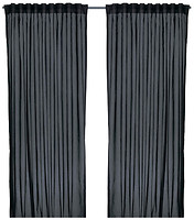 IKEA Виван черная 145x300 (402.975.65)