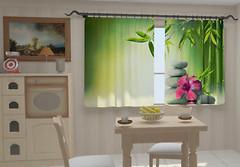 Фото Wellmira Листья бамбука в кухне 150x250