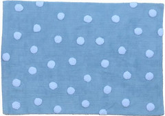 Lorena Canals Topos 120x160 azul (00082)