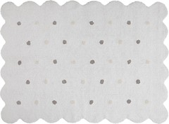 Lorena Canals Galleta 120x160 white (77770)