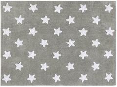 Lorena Canals Stars 120x160 grey-white (C-G-SW)