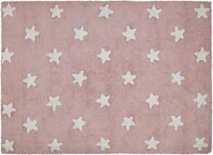 Lorena Canals Stars 120x160 pink-white (C-R-SW)