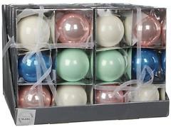 Christmas House набор шаров разноцветный 8 см, 6 шт. (8718861132519)
