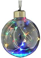 Новогодько шар с LED-нитью 8 см (972731, 5056137105601)