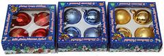 Фото Devilon набор шаров 7 см, 4 шт. (390335)