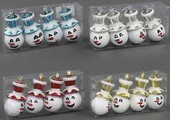 Фото BK Toys набор фигурок Снеговики 10 см, 4 шт. (C22331)