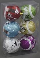 BK Toys набор шаров 8 см, 6 шт. (C22337)