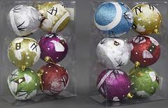 BK Toys набор шаров 8 см, 6 шт. (C21984)