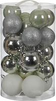 Фото House of Seasons набор шаров серый 8 см, 23 шт.