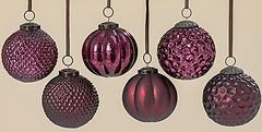 Фото Grand набор шаров марсала 10 см, 6 шт. (1006359)