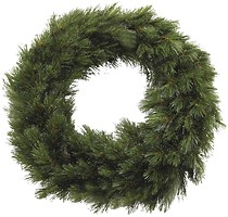 TriumphTree Венок Forest frosted зеленый 45 см (8717669551973)