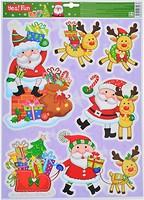 Новогодько Набор наклеек 29x41 см (801091, 5056137106790)