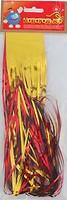 Новогодько Дождик Ламетта красный с золотистым 5x120 см, 3 шт. (980202, 4820073390107)