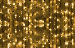 DeLux Curtain 1520 LED 2x7 м желтый/черный IP44 (90009034, 10008238)