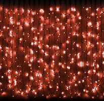 DeLux Curtain 456 LED 2x1.5 м красный/черный IP44 (10008248)