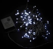 Фото DeLux String C 100 LED 5 м белый/черный IP20 (90009493)
