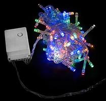 Фото DeLux String C 100 LED 5 м мультиколор/прозрачный IP20 (90009497)