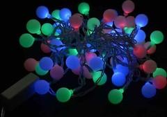 DeLux White Ball 30 LED 4.4 м RGB/прозрачный IP20 (10080846)
