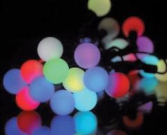 DeLux White Ball C 50 LED 6.5 м мультиколор/прозрачный IP20 (10090683)