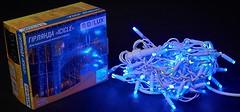 Фото Delux Icicle 75 LED 2x0.7 м белый/синий IP44 (90012957)