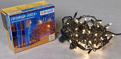 Фото Delux Icicle 75 LED 2x0.7 м черный/теплый белый IP44 (90012960)