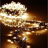 Фото Delux String 100 LED 2x 5 м белый/красный IP44 (90012972)