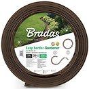 Фото Bradas Бордюрная лента 10 м x 3.8 см, коричневый (OBEB3810SET)