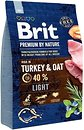 Фото Brit Premium Light Turkey & Oat 3 кг