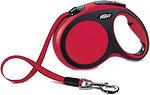 Фото Flexi Поводок-рулетка ленточная New Comfort L 8 м / 50 кг red